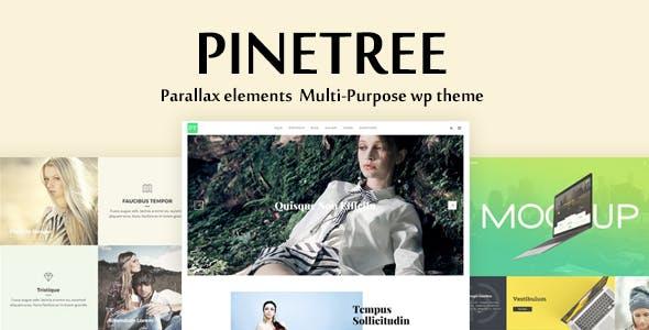 Pinetree - Multi-Purpose WordPress Theme