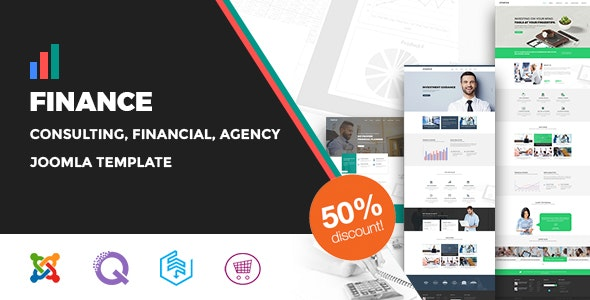 Finance - Consulting, Business, Agency Joomla Template - Business Corporate