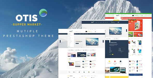 Leo Otis - Digital and Electronics Prestashop 1.7 Theme - PrestaShop eCommerce