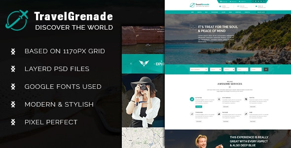 TravelGrenade-Theme for Travel - Travel Retail