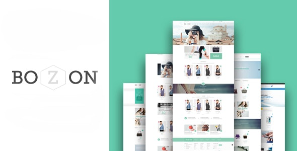Bozon - Fashion HTML Template - Fashion Retail