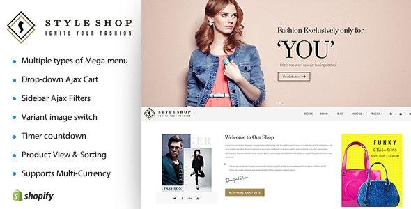 Hi Fashion | Boutique Shopify Template - Shopify eCommerce