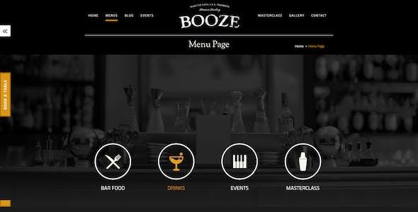 Booze - Pub HTML Template