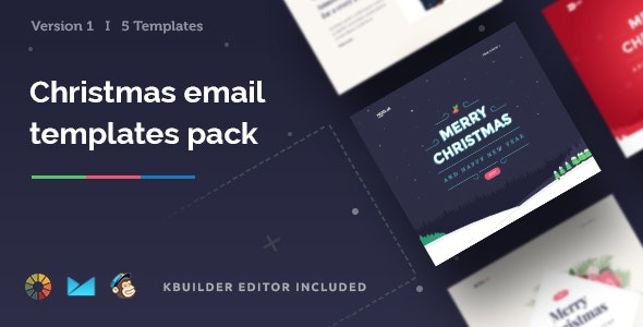 Christmas - Email Templates Set + Kbuilder 1.2 - Email Templates Marketing