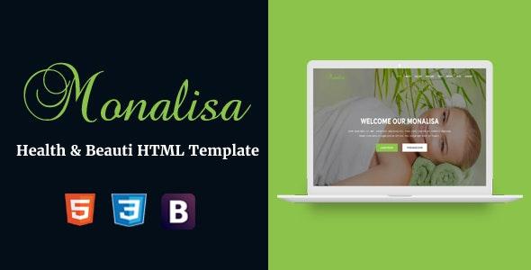 Monalisa - Health & Beauti HTML Template - Health & Beauty Retail