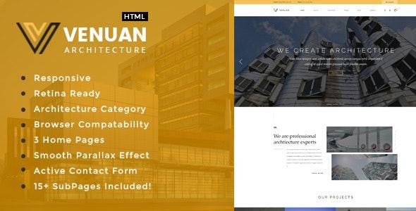 Venuan - Architecture, Interior and Renovation Template - Business Corporate