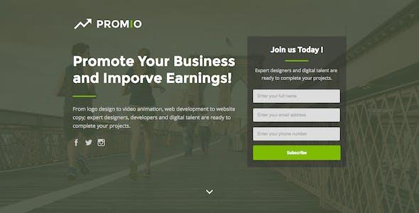 PROMIO - Marketing Multipurpose Unbounce Landing Page