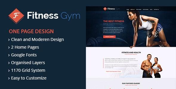 FItness - WordPress Theme - Health & Beauty Retail