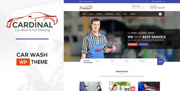 Car Dinal - Car Wash & Workshop WP Theme - Business Corporate