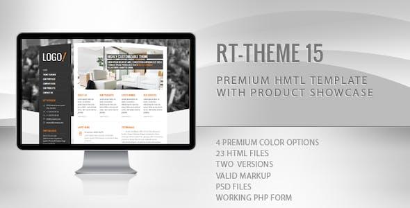 RT-Theme 15 Premium HTML Template