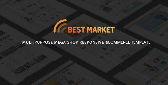 BestMarket - eCommerce HTML Template - Shopping Retail