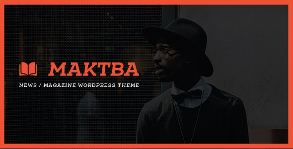 Maktba News / Magazine PSD Template - Miscellaneous Photoshop