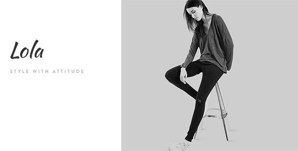 Lola - Minimal eCommerce Fashion HTML Template - Shopping Retail