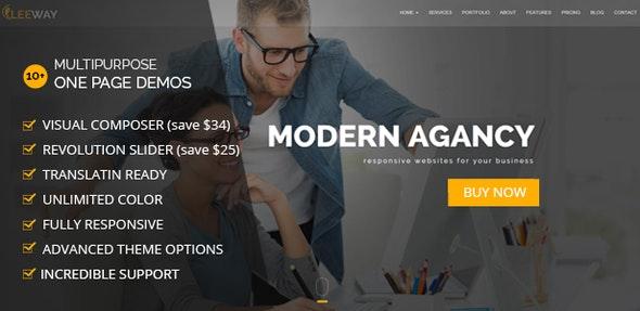 Leeway - Multipurpose Business WordPress Theme - Marketing Corporate