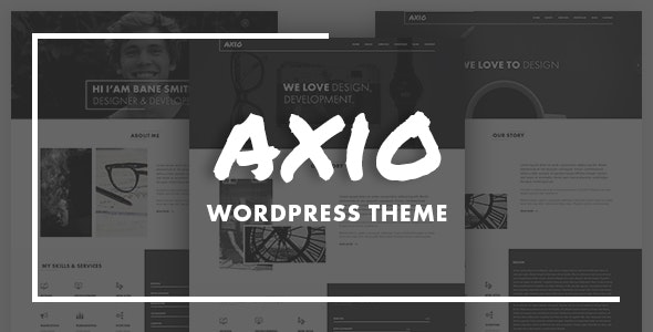 AXIO - Creative Agency and Portfolio WordPress Theme - Portfolio Creative