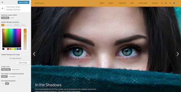 Partout - Fullscreen Photography Theme