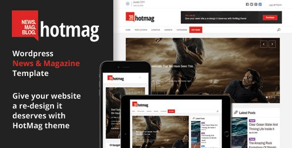 HotMag - Responsive WordPress News, Magazine and Blog Template - Blog / Magazine WordPress