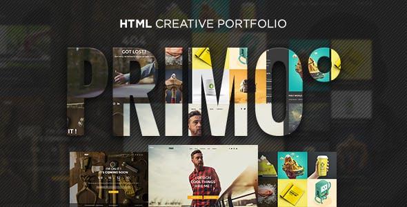 Primo° - Creative Portfolio HTML Template