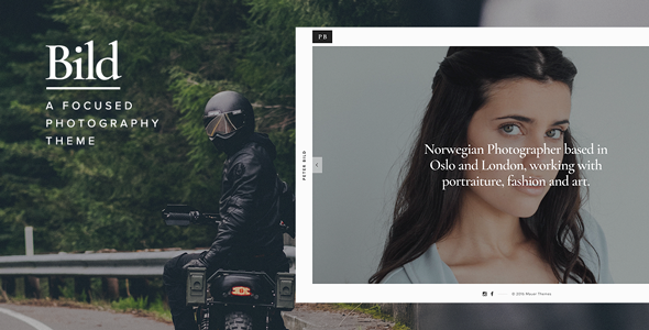 Bild — A Focused WordPress Photography Theme