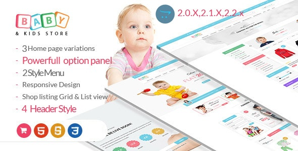BabyStore -Responsive Opencart Theme - Fashion OpenCart