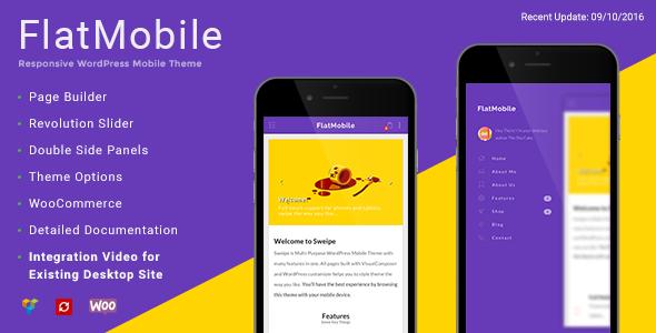 FlatMobile - Responsive WordPress Mobile Theme - Mobile WordPress