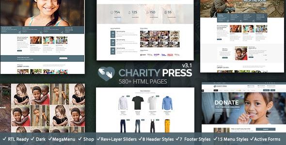 CharityPress - NonProfit HTML - Charity Nonprofit