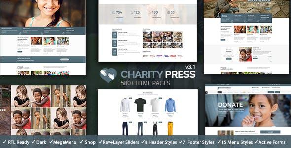 Charity Press HTML