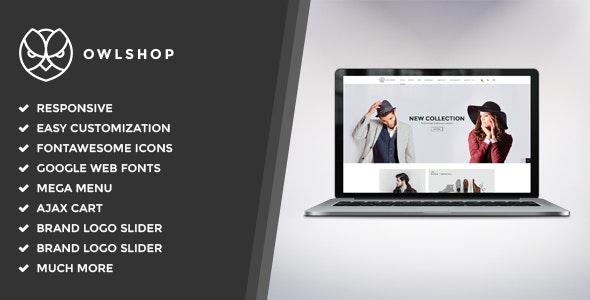 Owlshop - Minimalist Ecommerce WordPress Theme - WooCommerce eCommerce