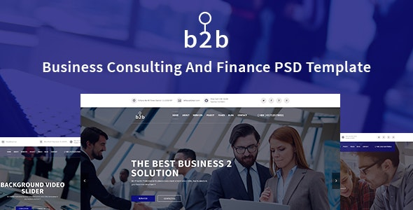 Business Consulting &  Finance, Corporate Template - Corporate Photoshop