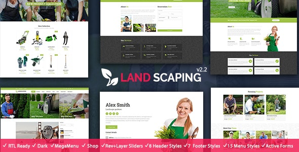Landscaping - Gardening HTML - Business Corporate