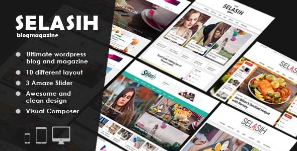 Selasih ultimate blog magazine - Blog / Magazine WordPress