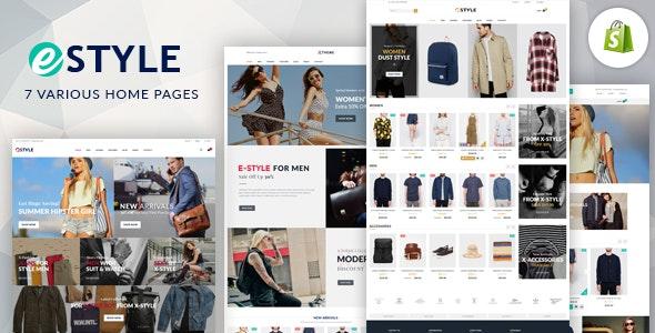 E-Style - Responsive Shopify Theme - Fashion Shopify