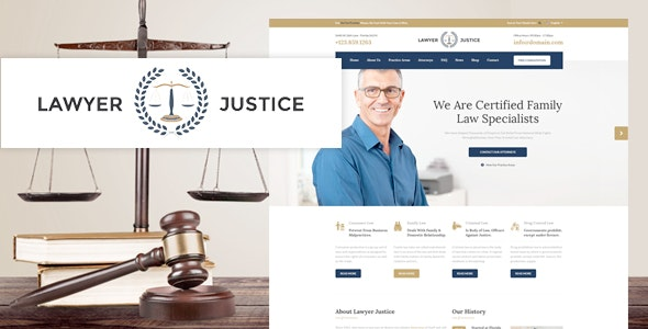 Justice - Law Firm Joomla Template - Business Corporate