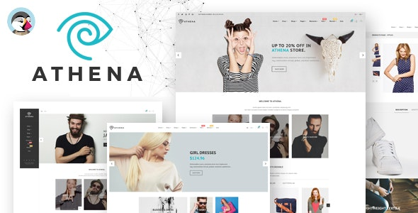 Athena - With 15 + Homepages  Responsive Prestashop Theme - Fashion PrestaShop