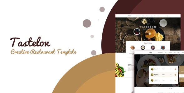 Tastelon Restaurant Responsive HTML Template - Food Retail