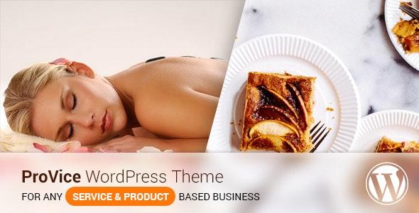 Provice WordPress Landing Page Theme - Marketing Corporate