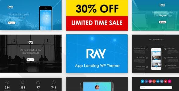 Ray - App Responsive WordPress Theme - Software Technology