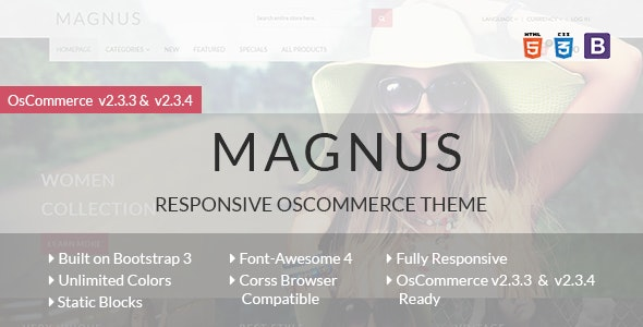 Magnus - Responsive osCommerce Theme - Miscellaneous eCommerce