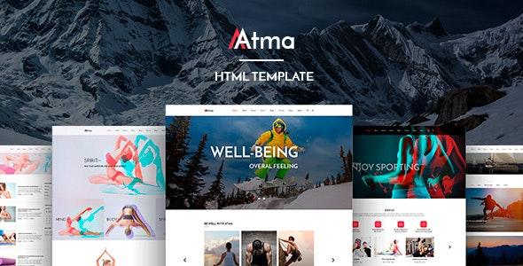 Atma - Creative Fitness & Sports HTML Template - Health & Beauty Retail