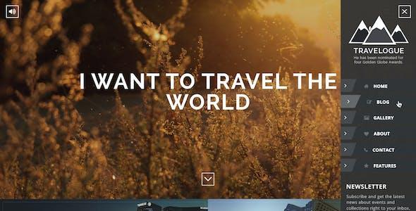 Travelogue - Travel Blog HTML Template