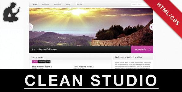 CLEAN STUDIO - Portfolio Creative
