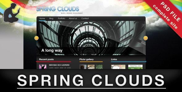 Spring Clouds - Portfolio Creative