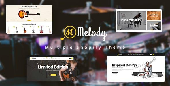 Leo Melody Responsive Musical Instrument Prestashop Theme