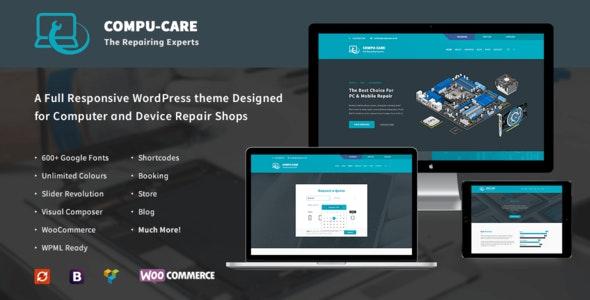 Compu-Care Computer & Mobile Repair Shop | WordPress Theme - Retail WordPress