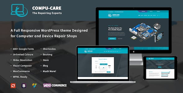 17b96fe662a0c8 Compu-Care Computer & Mobile Repair Shop | WordPress Theme