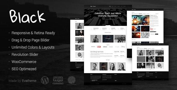 Black - Premium Multi-Purpose WordPress Theme - Creative WordPress