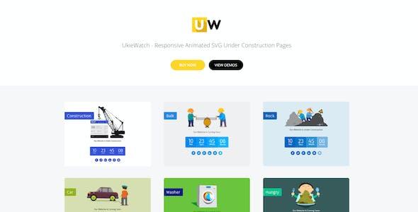 UkieWatch - Responsive Animated Templates