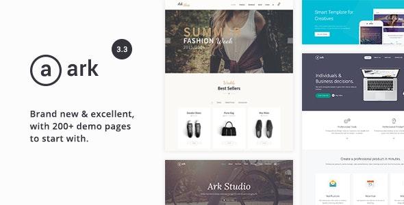 Ark - Responsive Multi-Purpose HTML5 Template - Site Templates
