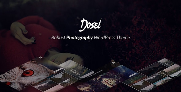 Dosei - Robust WP Theme for Photographers and Galleries - Photography Creative