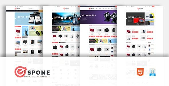 Espone - Electronics Store HTML Template - Shopping Retail